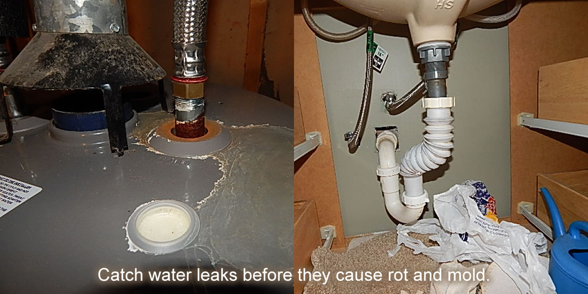 Water Leak Slider